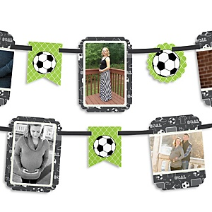 GOAAAL! - Soccer - Baby Shower Photo Bunting Banner