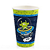 Lil' Space Alien - Baby Shower Hot/Cold Cups - 8 ct
