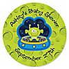 Lil' Space Alien - Personalized Baby Shower Sticker Labels - 24 ct