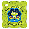 Lil' Space Alien - Personalized Baby Shower Tags - 20 ct
