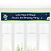 Space Alien - Personalized Birthday Party Banners