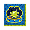 Space Alien - Birthday Party Beverage Napkins - 16 ct