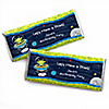 Space Alien - Personalized Birthday Party Candy Bar Wrapper Favors