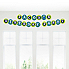 Space Alien - Personalized Birthday Party Garland Letter Banner