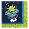 Space Alien - Birthday Party Luncheon Napkins - 16 ct