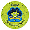 Space Alien - Personalized Birthday Party Sticker Labels - 24 ct