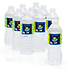 Space Alien - Personalized Birthday Party Water Bottle Label Favors