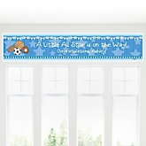 All Star Sports - Personalized Baby Shower Banner