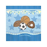All Star Sports - Baby Shower Beverage Napkins - 16 Pack