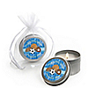 All Star Sports - Personalized Baby Shower Candle Tin Favors