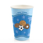 All Star Sports - Baby Shower Hot/Cold Cups - 8 Pack