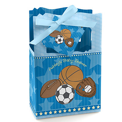 All Star Sports - Personalized Baby Shower Favor Boxes...