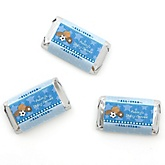 All Star Sports - Personalized Baby Shower Mini Candy Bar Wrapper Favors - 20 ct