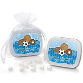 All Star Sports - Mint Tin Personalized Baby Shower Favors