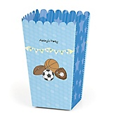 All Star Sports - Personalized Baby Shower Popcorn Boxes