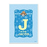 All Star Sports - Personalized Baby Shower Poster Gifts