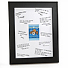 All Star Sports - Personalized Baby Shower Signature Mat Gift