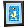 All Star Sports - Personalized Baby Shower Wall Art Gift