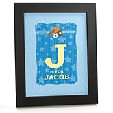 All Star Sports - Personalized Nursery Wall Art Gift