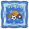All Star Sports - Birthday Party Dinner Plates - 8 ct