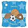 All Star Sports - Personalized Birthday Party Tags - 20 ct