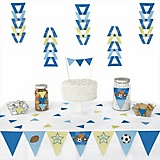 baby shower triangle decoration kits