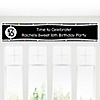 Sweet Sixteen Birthday - Personalized Birthday Party Banners