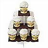 Baby Teddy Bear - Baby Shower Cupcake Stand and 13 Cupcake Wrappers