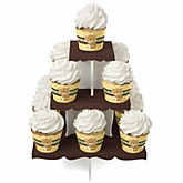 Baby Teddy Bear - Baby Shower Cupcake Stand & 13 Cupcake Wrappers