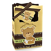 Baby Teddy Bear - Personalized Baby Shower Favor Boxes