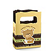 Baby Teddy Bear - Personalized Baby Shower Mini Favor Boxes