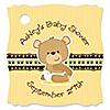 Baby Teddy Bear - Personalized Baby Shower Tags - 20 ct