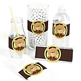 Baby Teddy Bear - DIY Party Wrappers - 15 ct