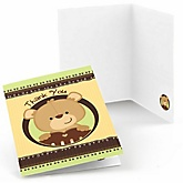 Baby Teddy Bear - Baby Shower Thank You Cards - Set of  8