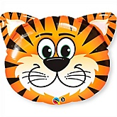 Tiger - Super Shaped Mylar Baby Shower Balloon