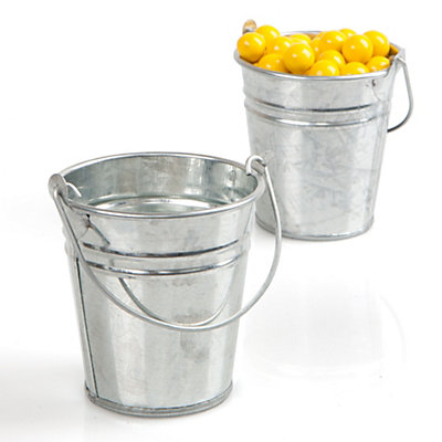 Empty Fillable Tin Bucket - Everyday Party Do It Yourself