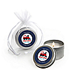 Train - Personalized Baby Shower Candle Tin Favors