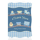 Train - Personalized Baby Shower Thank You Cards