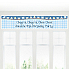 Train - Personalized Birthday Party Banners