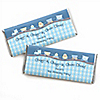 Train - Personalized Birthday Party Candy Bar Wrapper Favors
