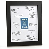 Train - Personalized Baby Shower Print with Signature Mat