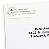 World Awaits - Personalized Graduation Return Address Labels - 30 ct