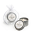 World Awaits - Personalized Graduation Candle Tin Favors