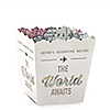 World Awaits - Personalized Graduation Candy Boxes