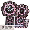 Trendy Flower - Birthday Party 16 Big Dot Bundle