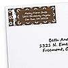 Trendy Mommy - Personalized Baby Shower Return Address Labels - 30 ct