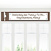 Trendy Mommy - Personalized Baby Shower Banners