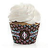 Trendy Mommy - Baby Shower Cupcake Wrappers