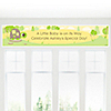 Baby Turtle - Personalized Baby Shower Banners