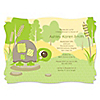 Baby Turtle - Personalized Baby Shower Invitations
